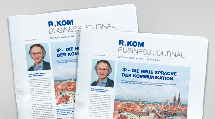 Die neue Welt der All-IP-Technologie | R-KOM Business Journal
